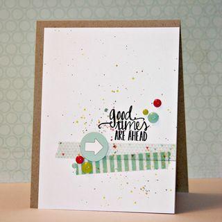 Simple birthday card ~ greetings card ideas ~ easy birthday card ideas