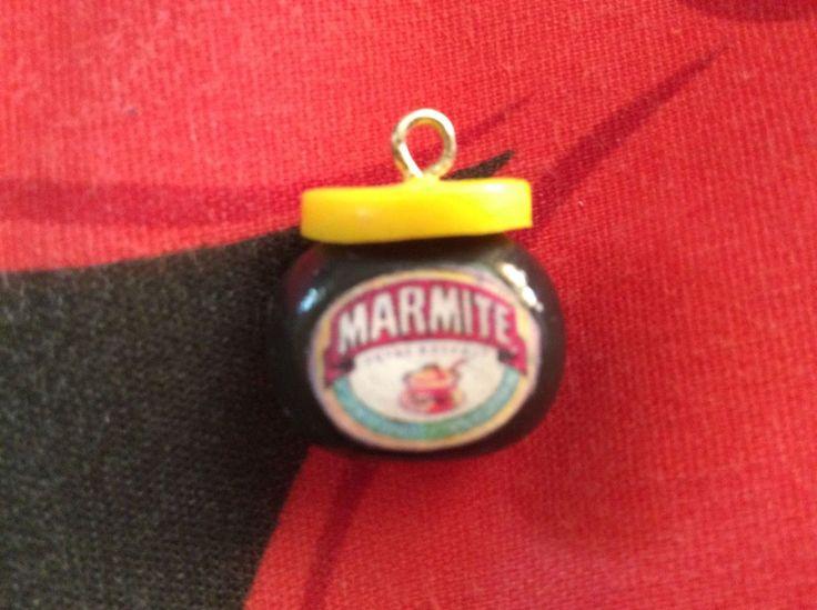 Marmite Bead Jar