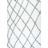 Found it at AllModern - Selina White Shag Area Rug