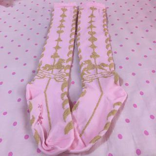 Angelic Pretty(アンジェリックプリティー)のTwinkleCarnival☆OK レディースファッションのレッグウェア(ソックス)の商品写真