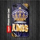 Los Angles Kings iPhone 4, 4S Case - Black Case #iPhone4 #iPhone4 #PhoneCase #iPhone4Case #iPhone4Case