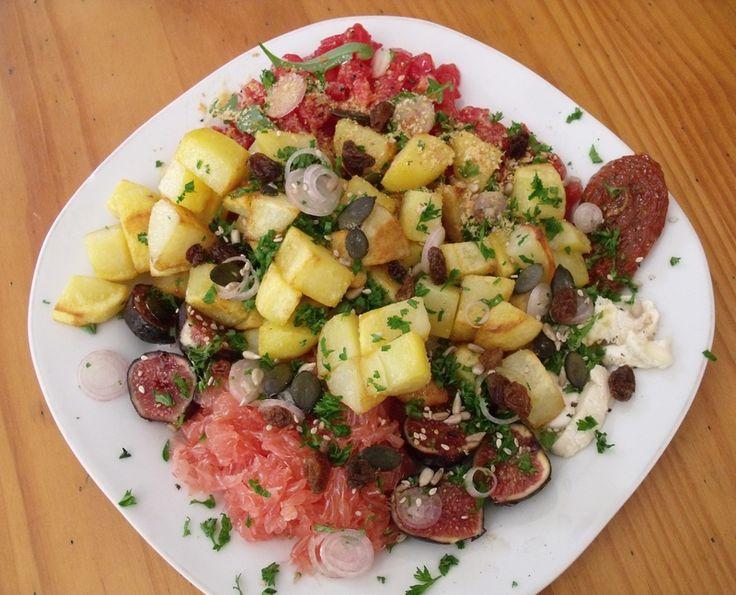 assiette végétarienne (ou abundance bowl)