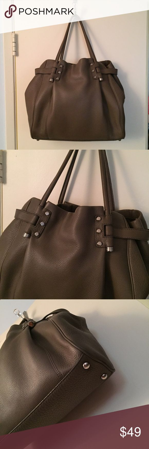 Banana Republic purse Pebbled leather tote bag by Banana Republic. Only used a couple times, nearly new condition. Banana Republic Bags Totes