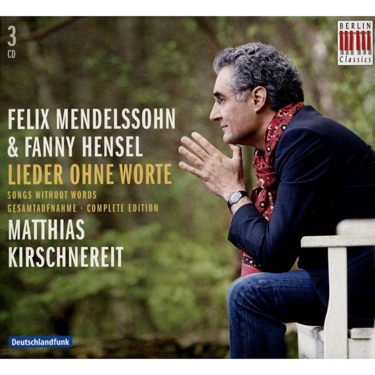 Matthias Kirschnereit - Felix Mendelssohn & Fanny Hensel: Lieder ohne Worte (CD)