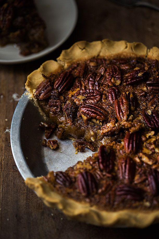 Pecan Pie made with Otto's Cassava Flour | Slim Palate
