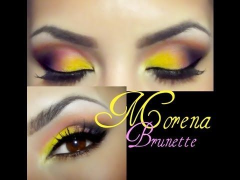 Check this makeup video out -- Piel morena maquillaje / Brunette skin eye makeup on MakeupBee