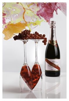GHMumm Cuvée Rosé - gelatina ribes 1