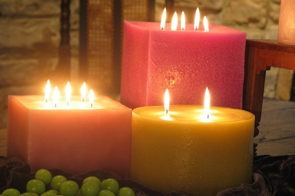 Candles that smell good.Orange Candles, Giants Candles,  Tapered, Candles Burning, Pretty Colors, Candles Magic, Huge Candles, Candles Ideas, Candles Galore