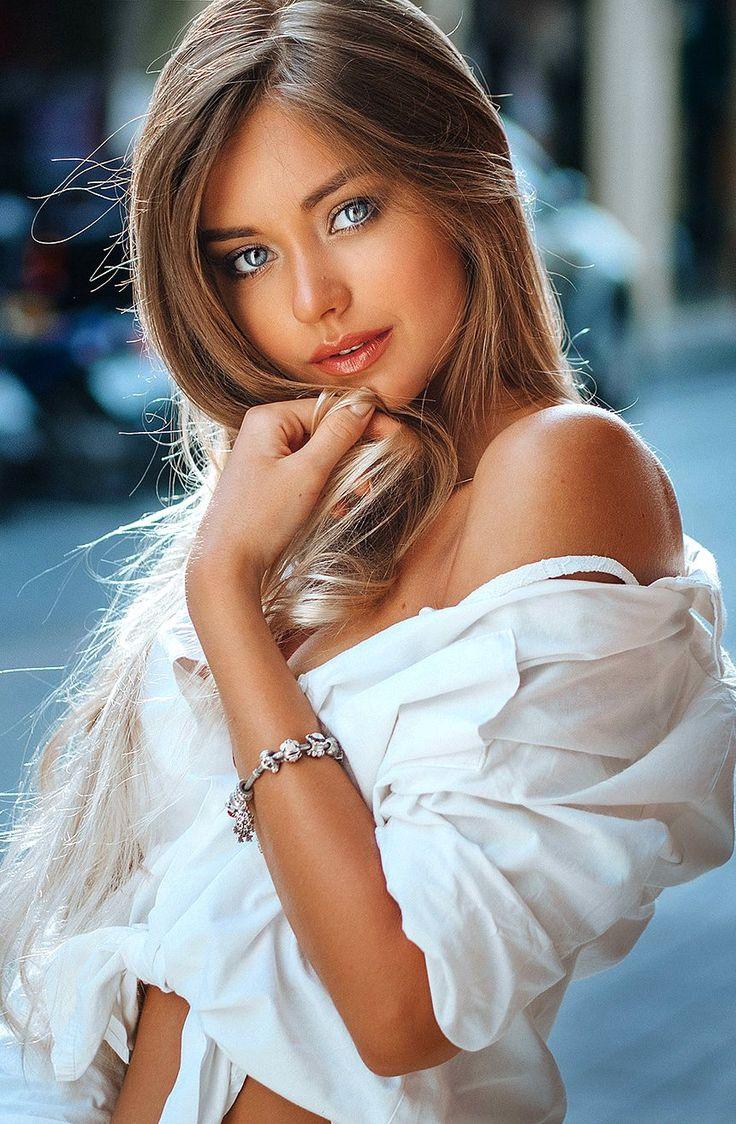Blonde Schönheit