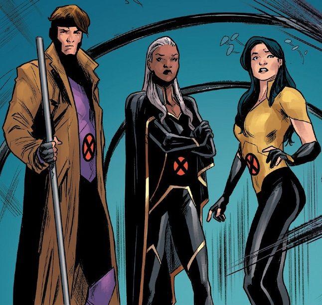 Gambit Storm X 23 From X Men Red Vol 1 8 001 Superhero Comic Marvel Comics Art Storm Marvel