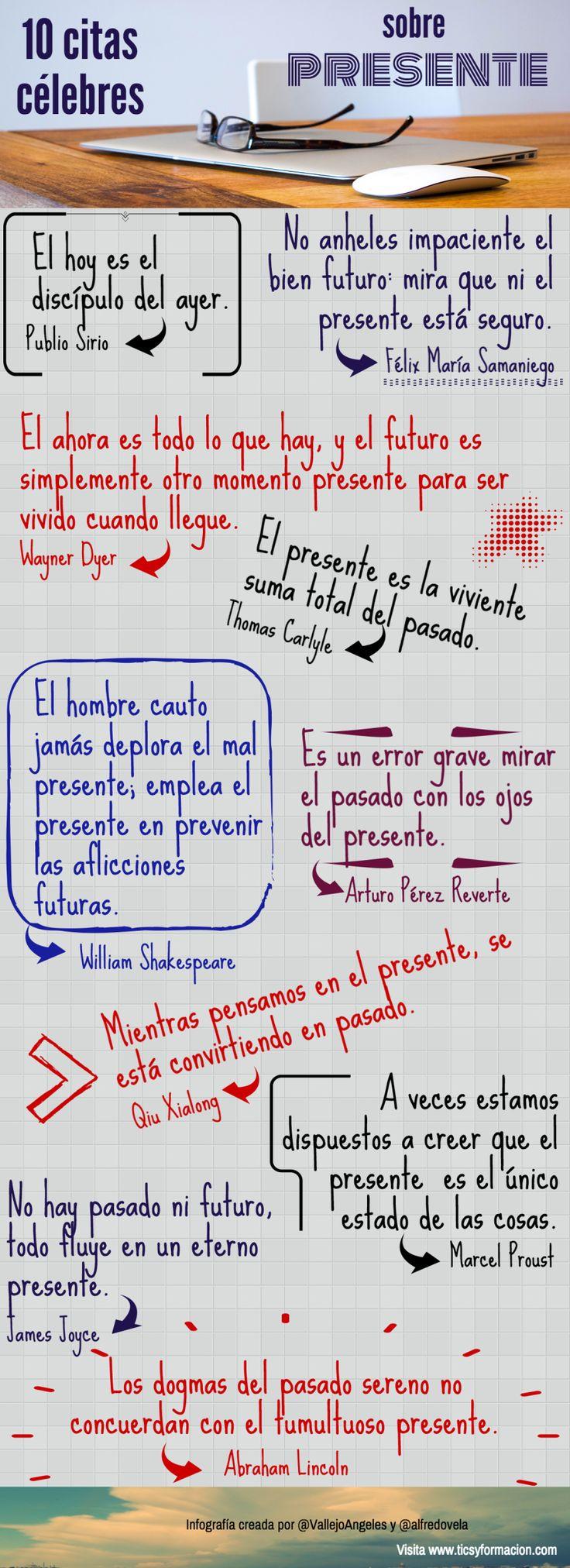 10 citas célebres sobre el Presente  Ideas Desarrollo Personal para www.masymejor.com