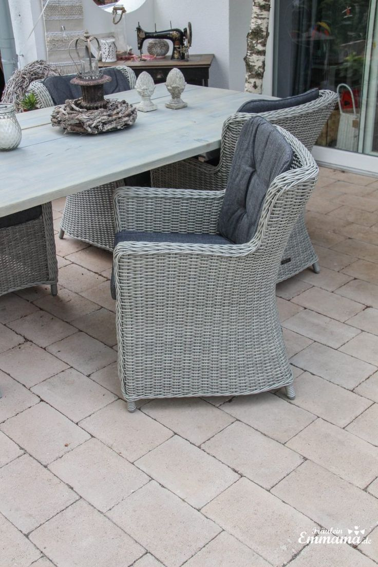 Our New Garden Table Is The New Eye Catcher In Our Garden Unser