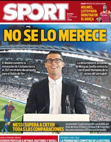 Real Madrid : la campagne anti-CR7 et pro-Messi pour le Ballon dor est lancée ! #kora #كورة #koora