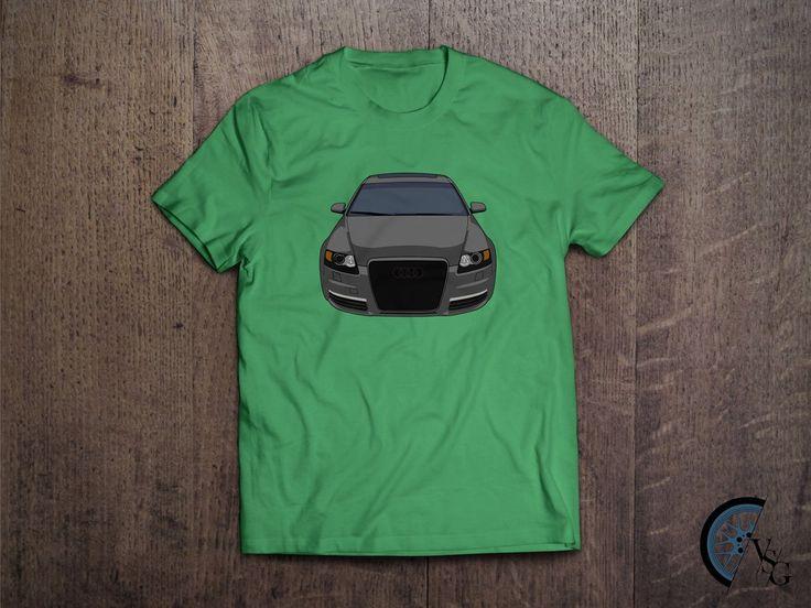 Front Audi A6 S-Line T-Shirt