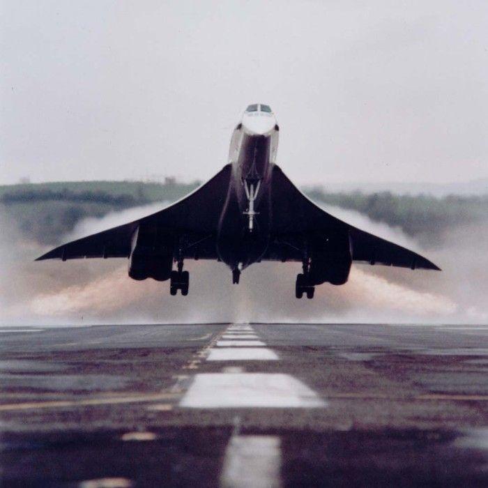 British Airways : Concorde au décollage