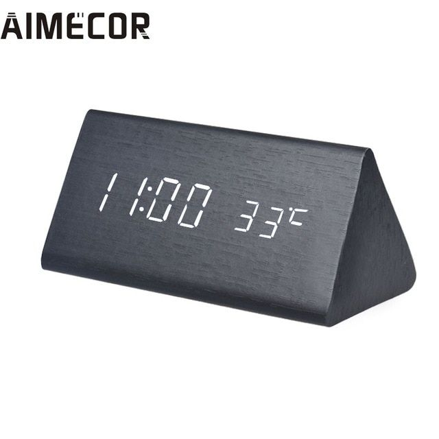 My House Creative Temperature Display Sounds Control Electronic