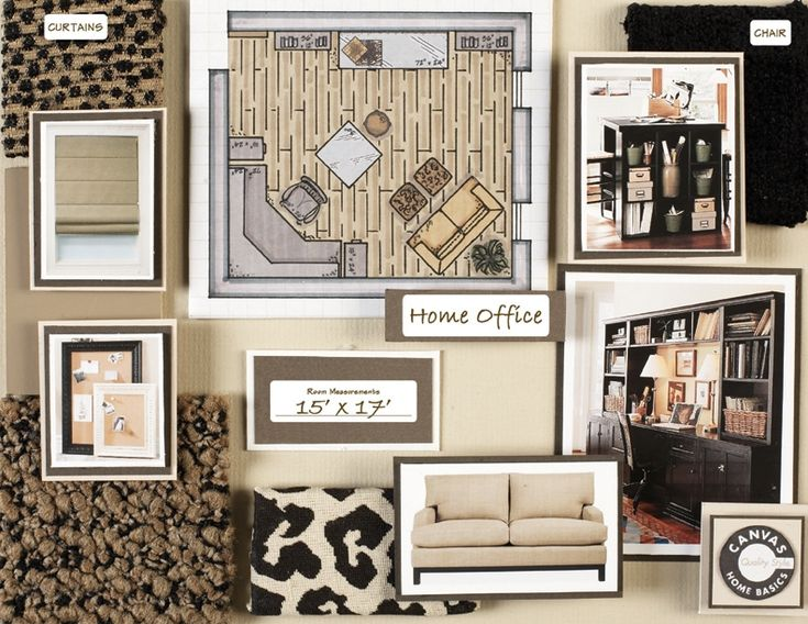 interior design board