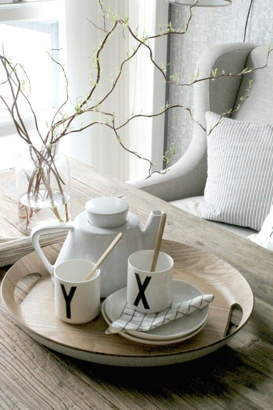 Remember to enjoy a cup of tea! Design Letters porcelain cups with typography by Arne Jacobsen are perfect for that!
