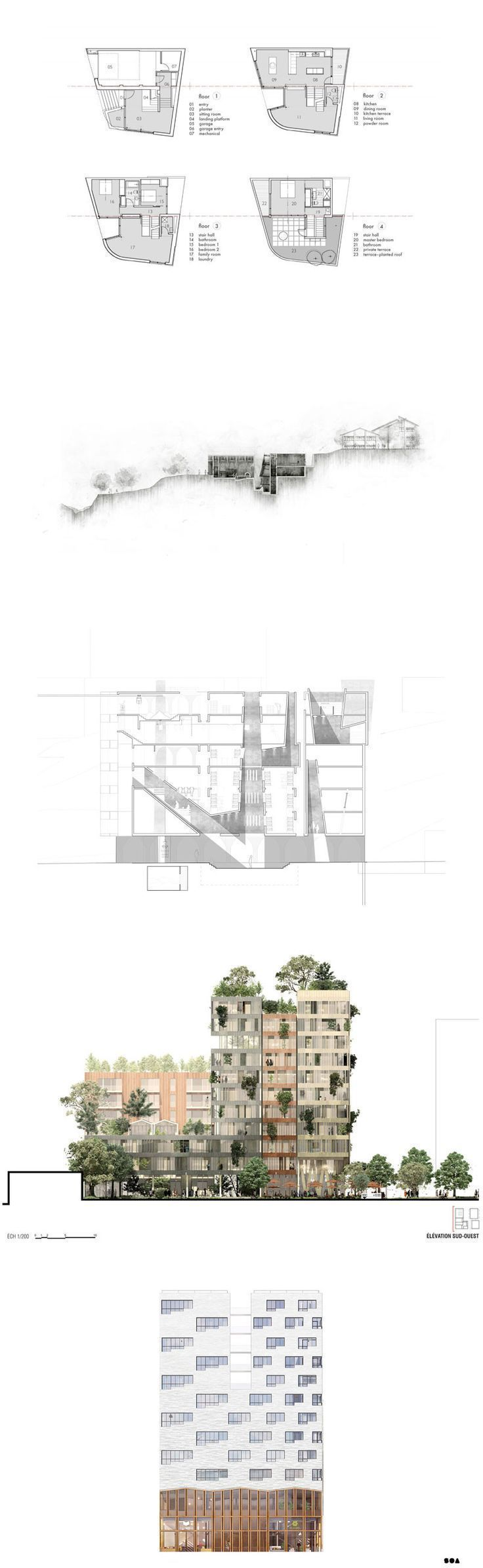 Views ARCHITECTURAL Architectural Elevations Gallery