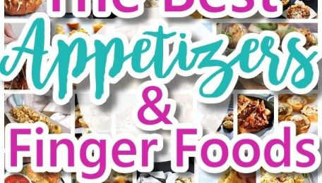 The Best Easy Party Appetizers, Hors D'oeuvres, Delicious Dips and Finger Foods Recipes - Quick family friendly tapas and snacks for Holidays, Tailgating, New Year's Eve and Super Bowl Parties!