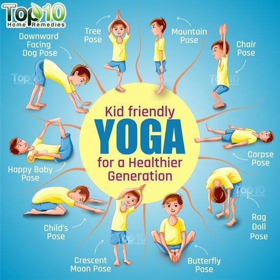 10 Amazing Yoga Poses for Your Kids to Keep Them Fit and Healthy | Top 10 Home R…