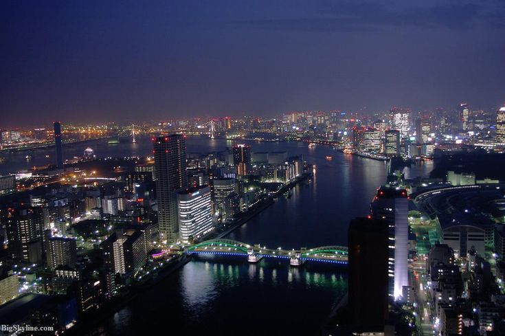 Tokyo: Favorite Places, Japan Tokyo, Tokyo Skyline, Skyline Tokyo Japan Night, Japan River, Places I D, Travel Guide, Beautifull Places