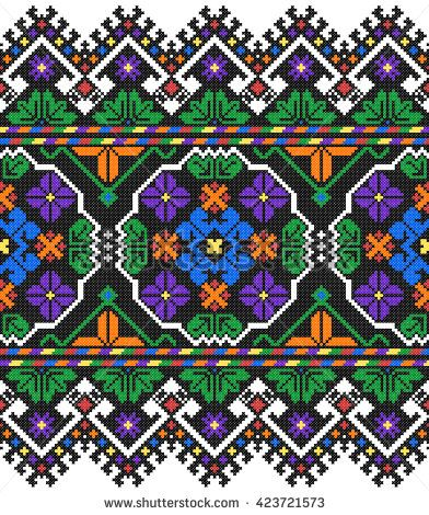 Cross Stitch Patterns Stock Photos, Images, & Pictures | Shutterstock