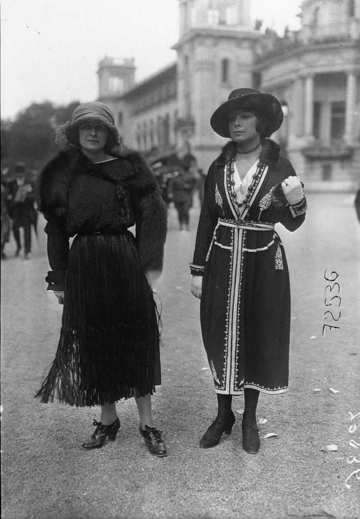 1919. Парижская мода эпохи «испанки». Часть 2 - Записки скучного человека