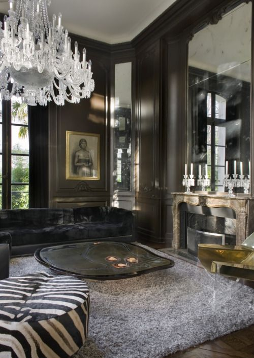 This room is dripping in fabulousness.