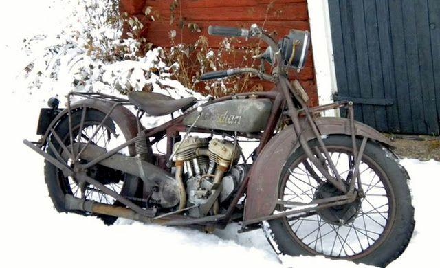 Winter bike.