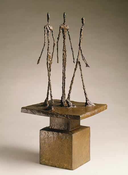 Alberto Giacometti: Three Men Walking II (1999.363.22) | Heilbrunn Timeline of Art History | The Metropolitan Museum of Art