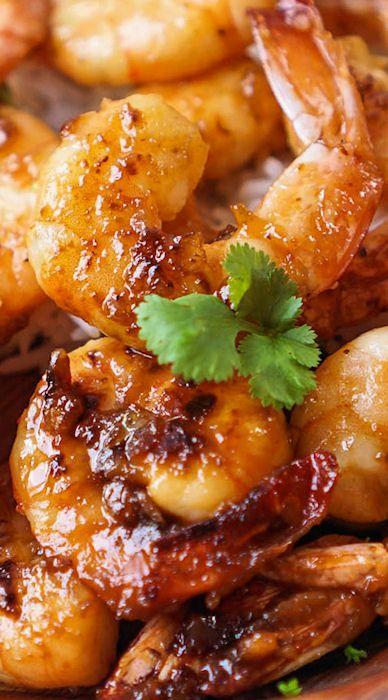 Caramelized Honey Lime & Garlic Shrimp  #RePin by AT Social Media Marketing - Pinterest Marketing Specialists ATSocialMedia.co.uk