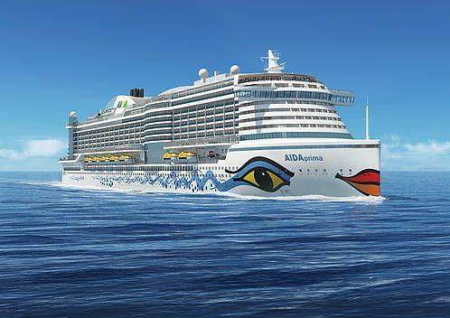 AIDAprima: The New Flag Ship of German cruise industry - AIDA Kreuzfahrten