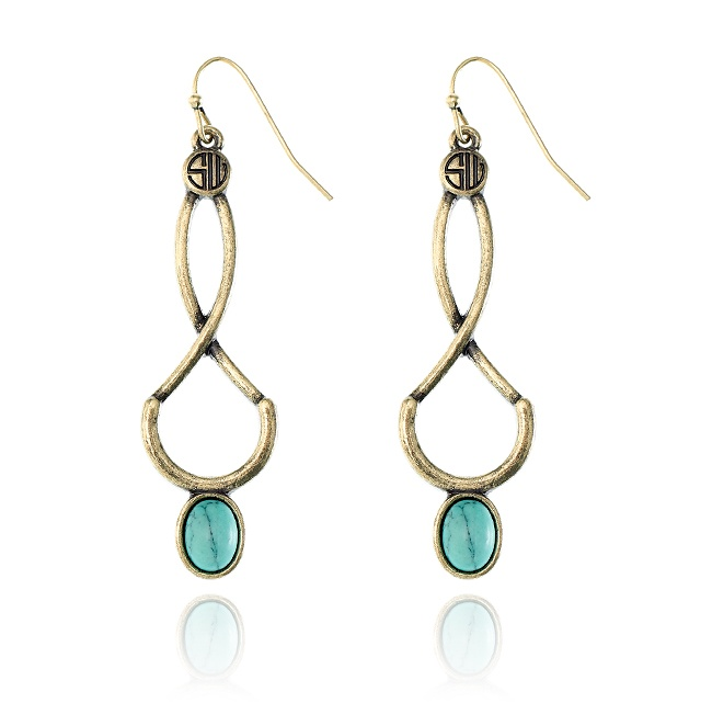 SAMANTHA WILLS - ABOVE THE BIRDS EARRINGS - TURQUOISE