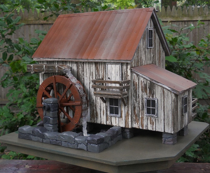 17 best images about diy barn birdhouse on pinterest for Houses that look like barns