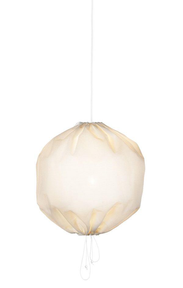 Kuu Lamp: A Drawstring Pendant from One Nordic Photo