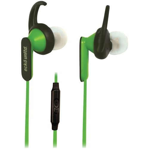 ECKO UNLIMITED EKU-NYT-GRN Nytro Sport Earbuds with Microphone (Green)
