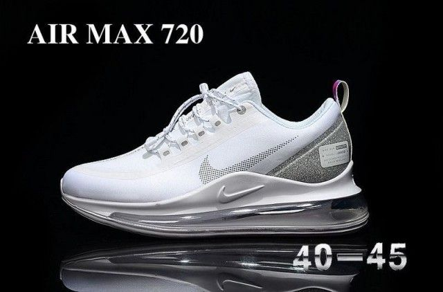 Nike Air Max 720 White Grey Men's Running Shoes in 2020 ...