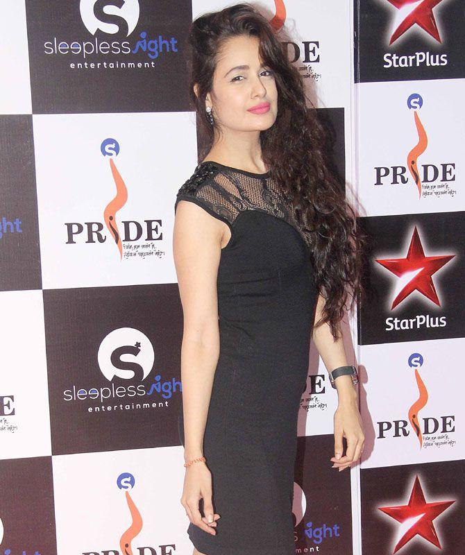 Yuvika Chaudhary at the Pride Gallantry Awards 2015. #Bollywood #Fashion #Style #Beauty