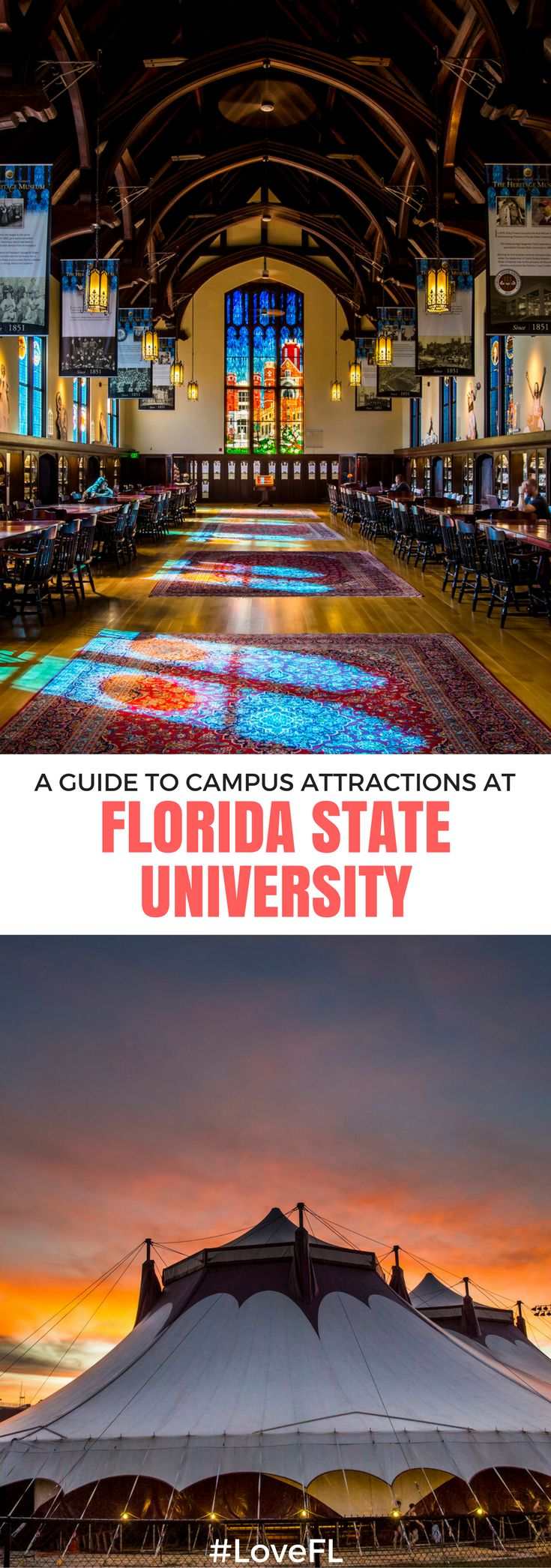 A guide to campus attractions at Florida State University | #Florida #College #FSU #Travel