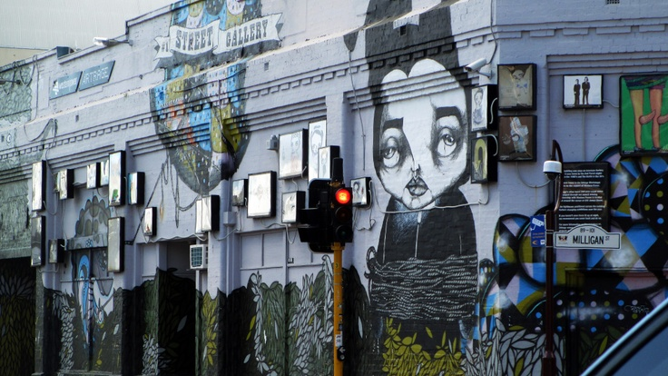 Perth Street Gallery, Cnr Milligan and Roe St. Photo by Kathy Muhlhan