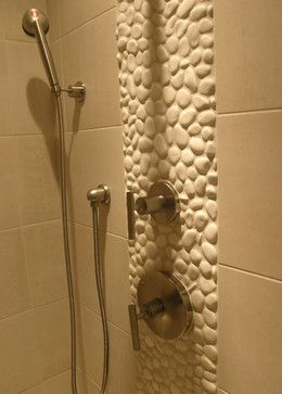 Contemporary Bathroom Wall Coverings Pebbles | Save To Ideabook Email  Photo. Love The White Pebbles