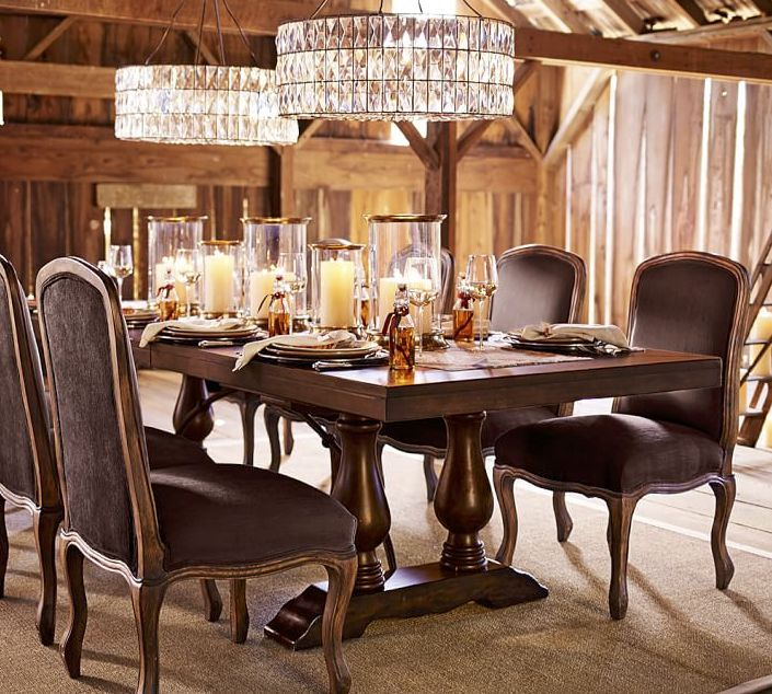 Pottery Barns Dining Furniture And Square Tables Are Crafted With Attention To Quality Design Find More