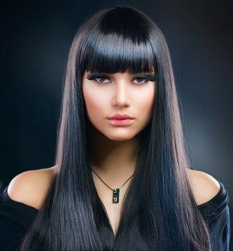 Long hair bangs cut #frisuren #frisuren2018 #frisureneinfache #frisurenflechten