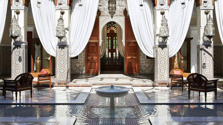 Royal Mansour - Hotel de luxe Marrakech - Maroc