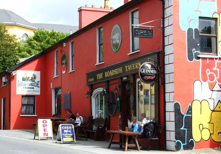 The Roadside Tavern in Lisdoonvarna is on the #WildAtlanticWay loop - well worth a detour for Kieran's Kitchen (delicious, honest organic food), the micro-brewery beers out of the pub and as a music venue. http://roadsidetavern.ie/roadside/