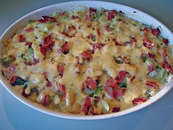 Chefkoch.de Rezept: Kartoffel - Gratin 'Cordon Bleu'