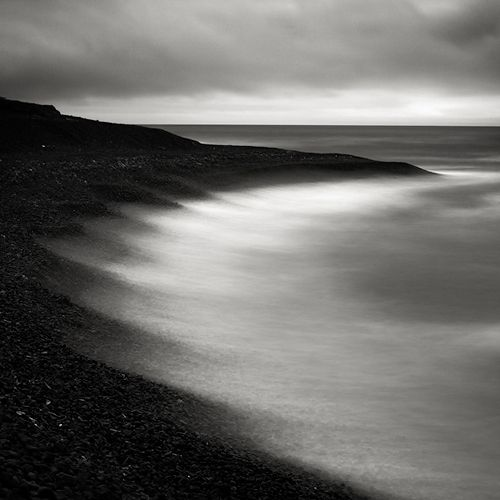 Long exposures on the sea usually result in a soft calming image this feels dark and wild
