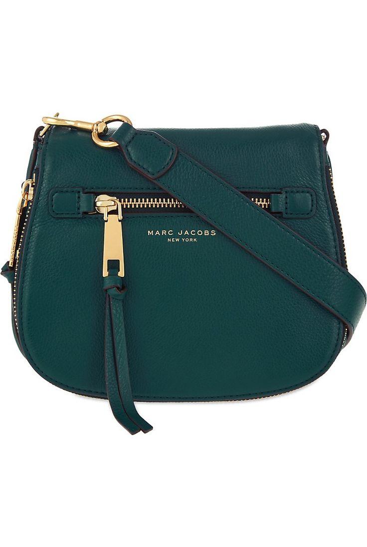 MARC JACOBS - Recruit small grained leather saddle bag | Selfridges.com