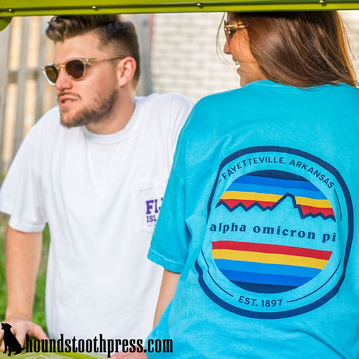 Alpha Omicron Pi Patagonia T-shirt